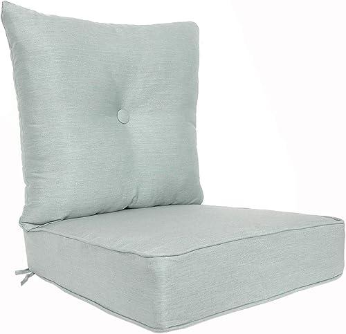 RULU 02184 Patio Cushion Outdoor/Indoor Sunbrella
