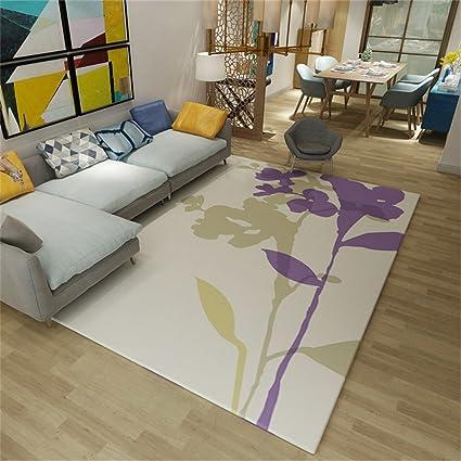 Moderno design in stile minimalista Tappeto rettangolare soggiorno ...