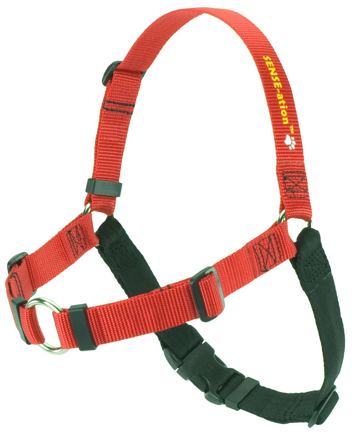SENSE-ation No-Pull Dog Harness - Red, Large (Wide)
