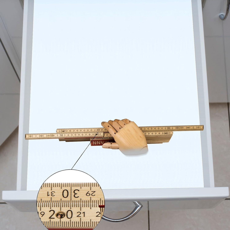 473,5 x 376 mm Orga-Box IV Universal Besteckeinsatz Besteckkasten Silbergrau f/ür 45er Schublade