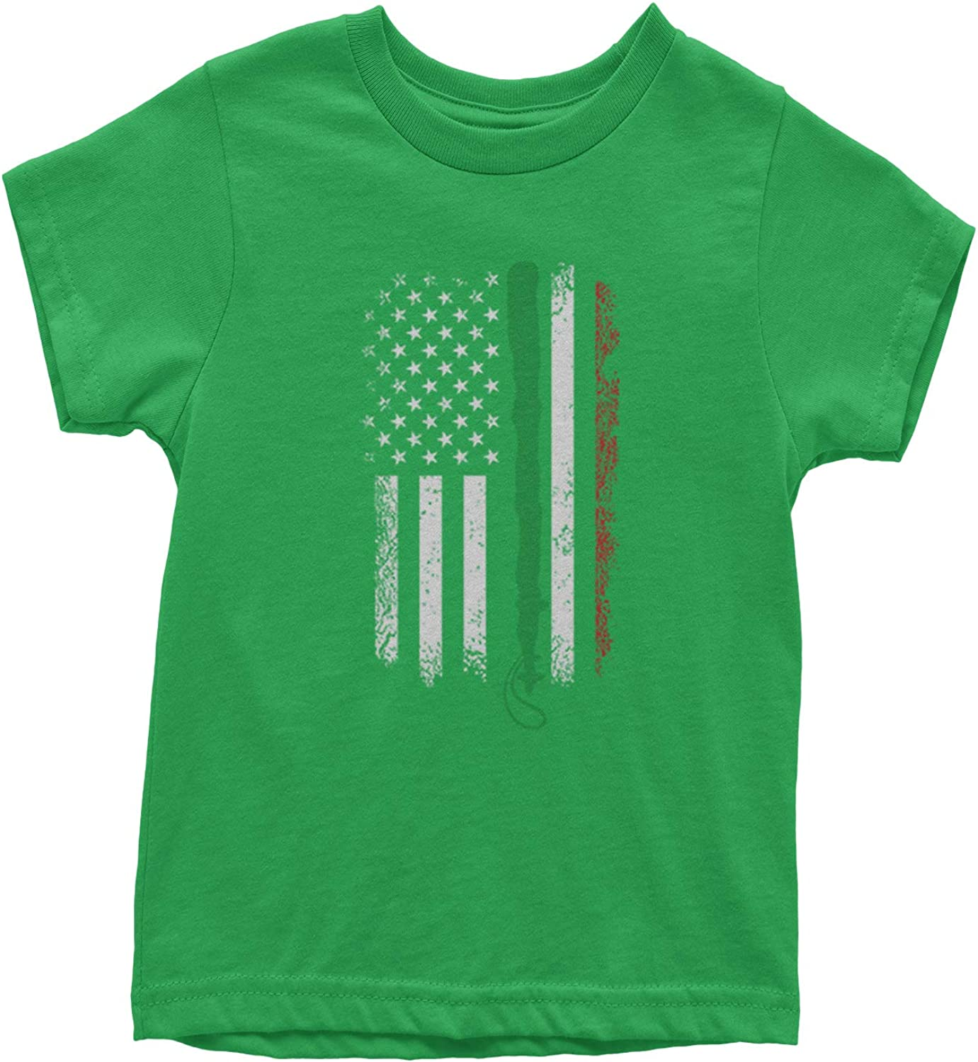 Expression Tees Shillelagh Irish Flag Ireland Youth T-Shirt
