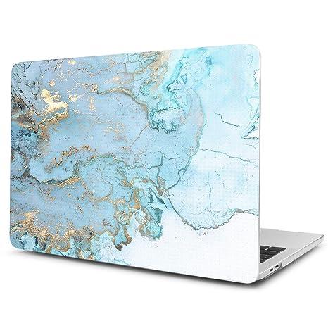 TwoL Funda MacBook Pro 13 Pulgadas, Ultra Slim Funda Dura Carcasa para MacBook Pro 13-13,3 Pulgadas A1278 Earth