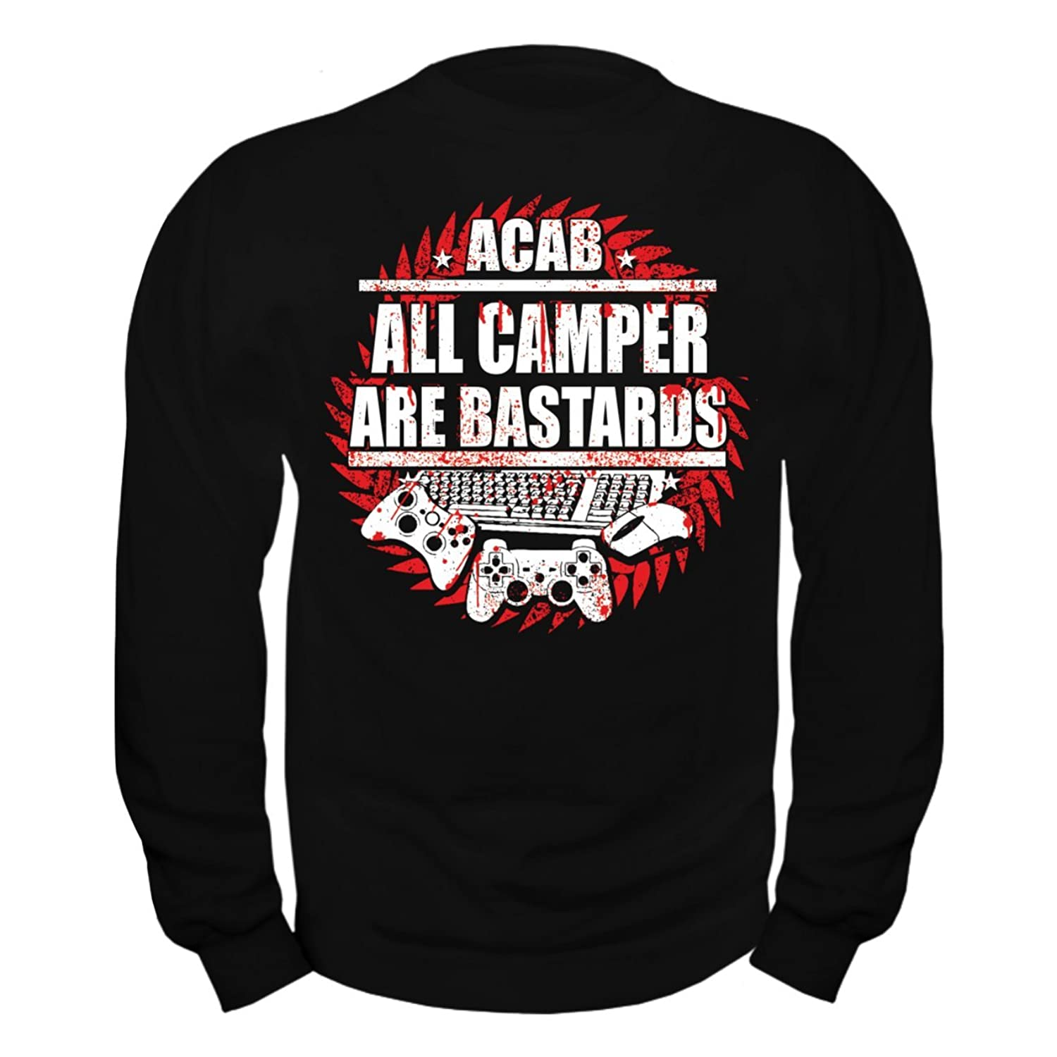 Men's Pullover All Campers are Bastards