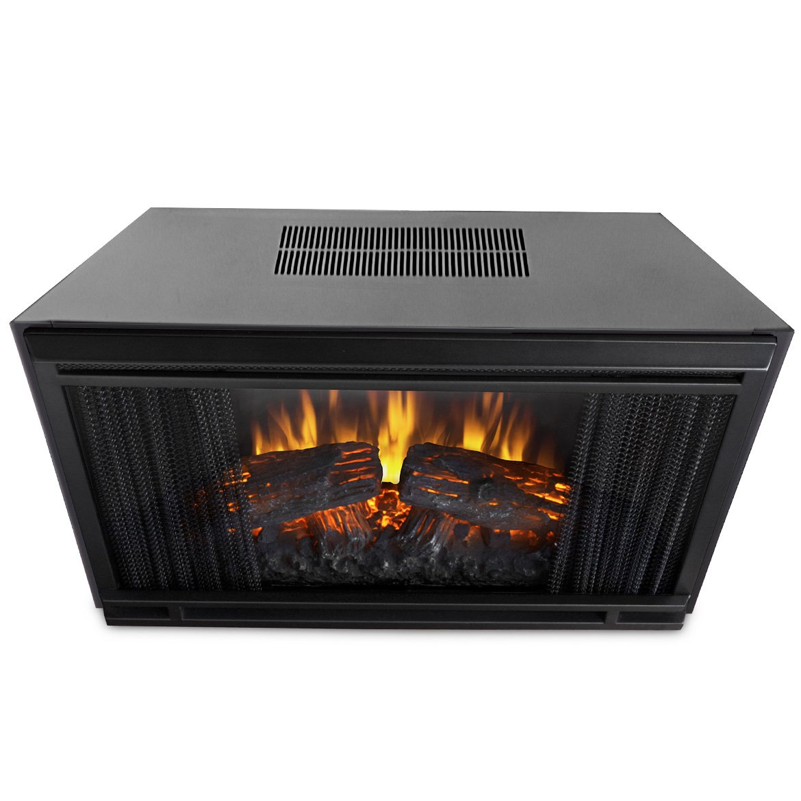 amazon com real flame 4099 electric firebox insert only home