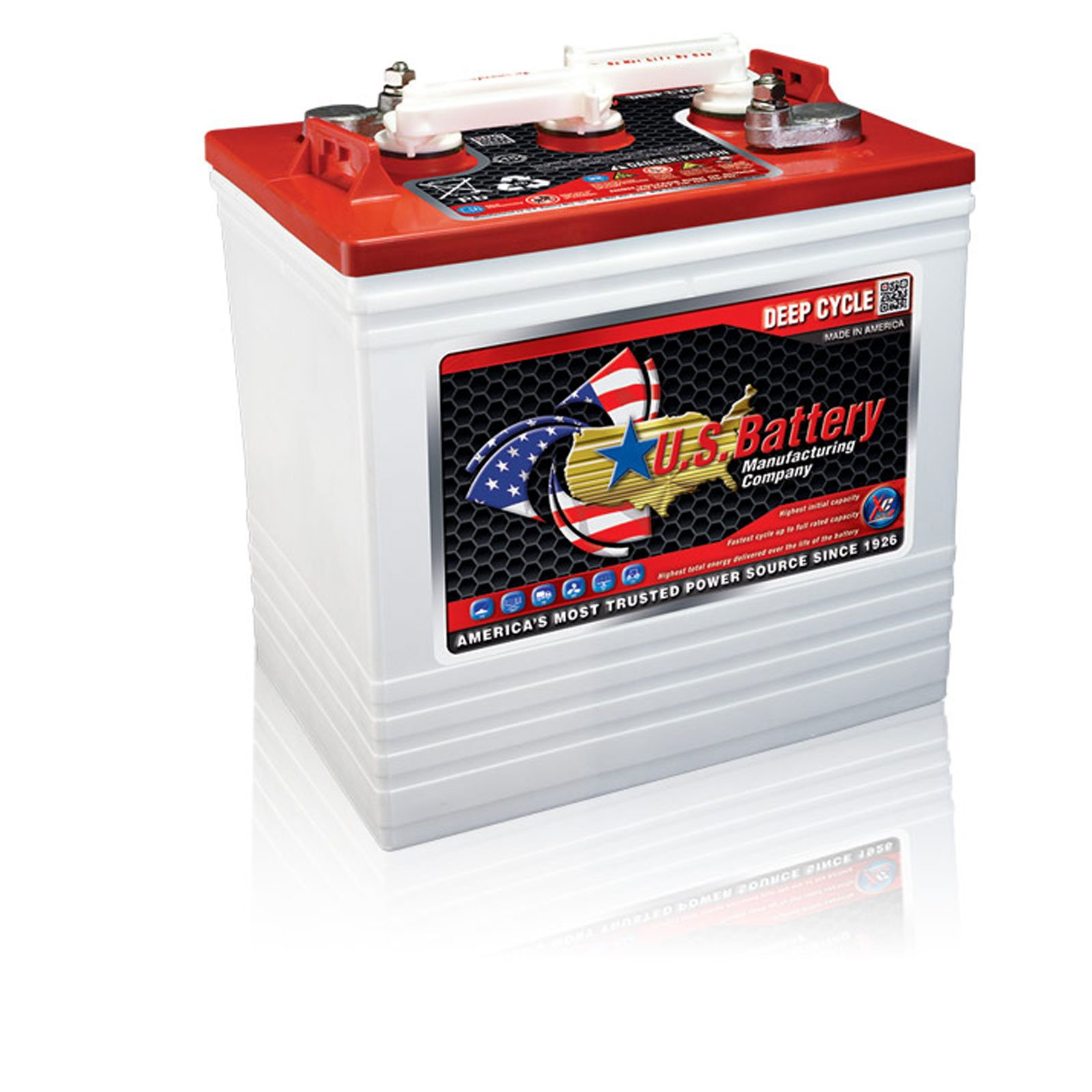 U.S. GC2 US2200XC2 6V 232A Deep Cycle Flooded Acid Battery