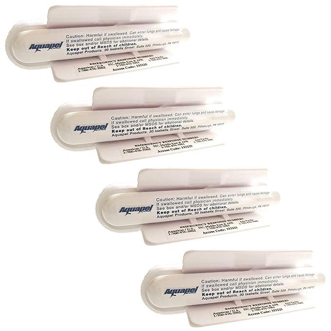 Aquapel Tratamiento de Vidrio PGW 4 único Uso aplicadores PPG: Amazon.es: Coche y moto