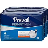 Prevail Per-Fit for Men Extra Absorbency Incontinence Underwear, Large, 72-Count