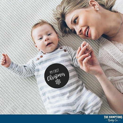 Amazon.com: Baby Milestone Stickers by The Hamptons Baby ...