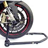 RACEFOXX Motorrad Montageständer Universal Vorne Vorderrad, passend für viele Modelle