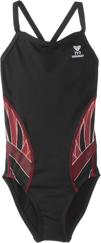 TYR SPORT Indianapolis Cash special price Mall Girl's Phoenix Splice Diamondfit Swimsuit