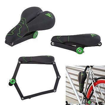 Seatylock Trekking - Candado híbrido antirrobo para Bicicleta ...