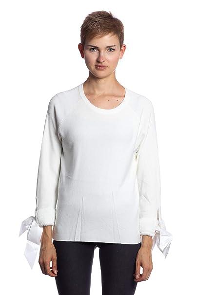Abbino DN-7102 Abrigo de Pieles en el Brazo Mujer - 5 Colores - Entretiempo