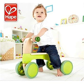 Hape Wutsch Grün - Kinder Laufrad-Holz: Amazon.de: Spielzeug