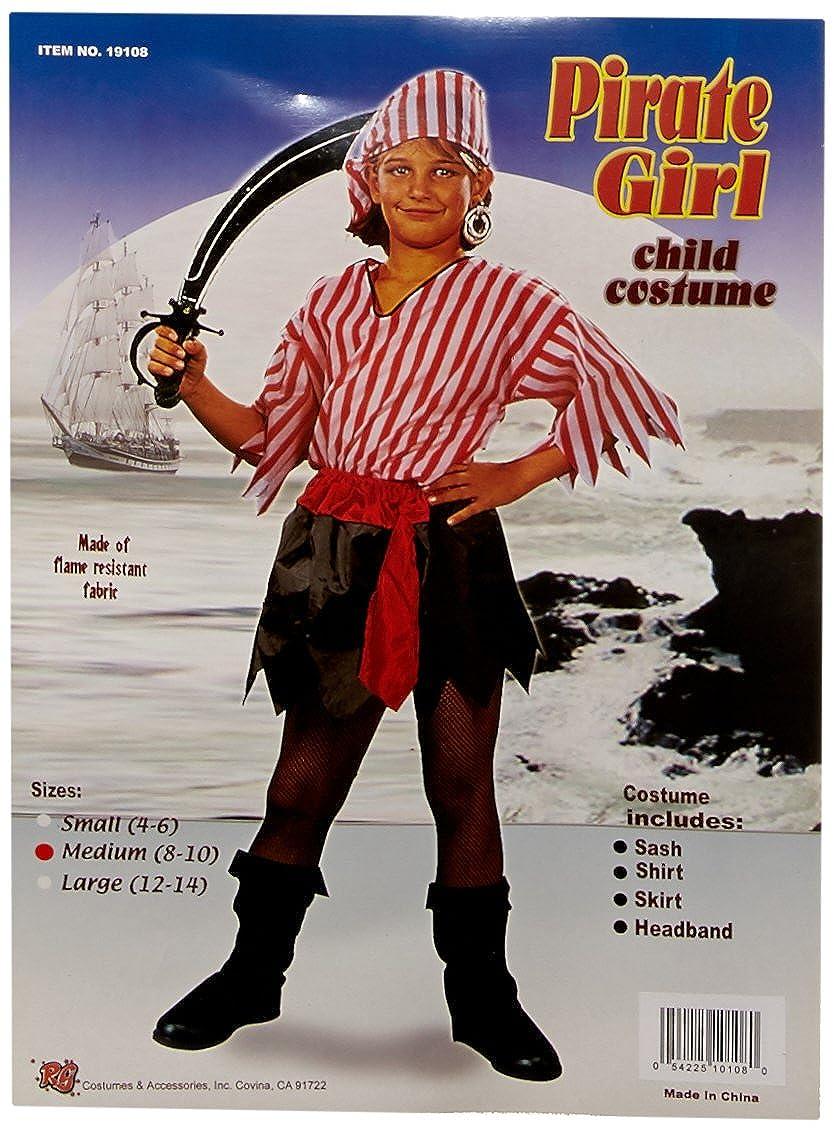 Childs Pirate Girl Costume RG Costumes