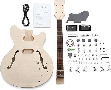 Rocktile 38313 - Set para construir guitarra eléctrica estilo HB ...