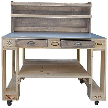 Palettenmobel Grill Tisch Captain Cook Basic Top Aus Zertifiziertem