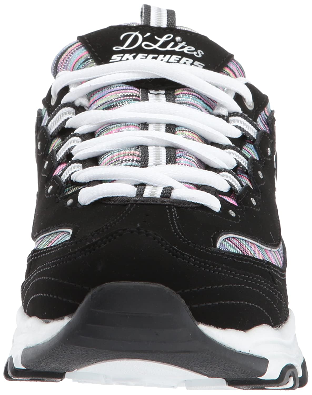 Skechers Skechers Skechers Damen Sportschuhe D´Lite Interlude Schwarz c01baf