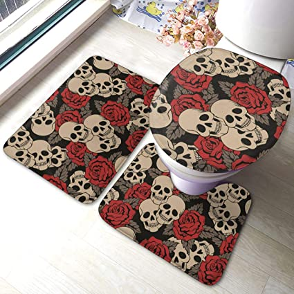 acheter tapis de bain tete de mort online 8