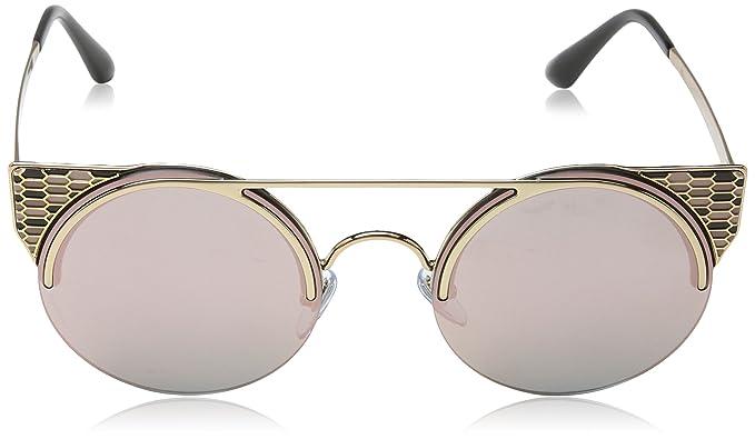 Bvlgari 6088, Occhiali da Sole Unisex-Adulto, Nero (Pink Gold), 54:  Amazon.it: Abbigliamento