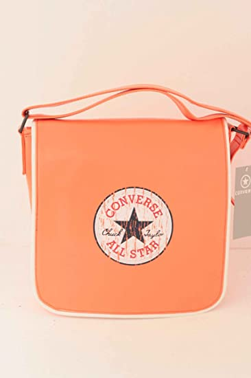 4da5aeb426faeb CONVERSE VINTAGE CT PATCH PU FORTUNE BAG soft orange in Groesse  OS ...