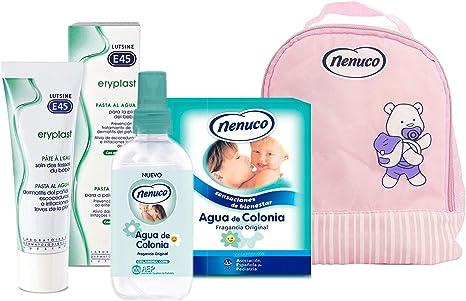 Nenuco Pack Regalo Bebé Mochila de Paseo Rosa con Colonia Nenuco ...