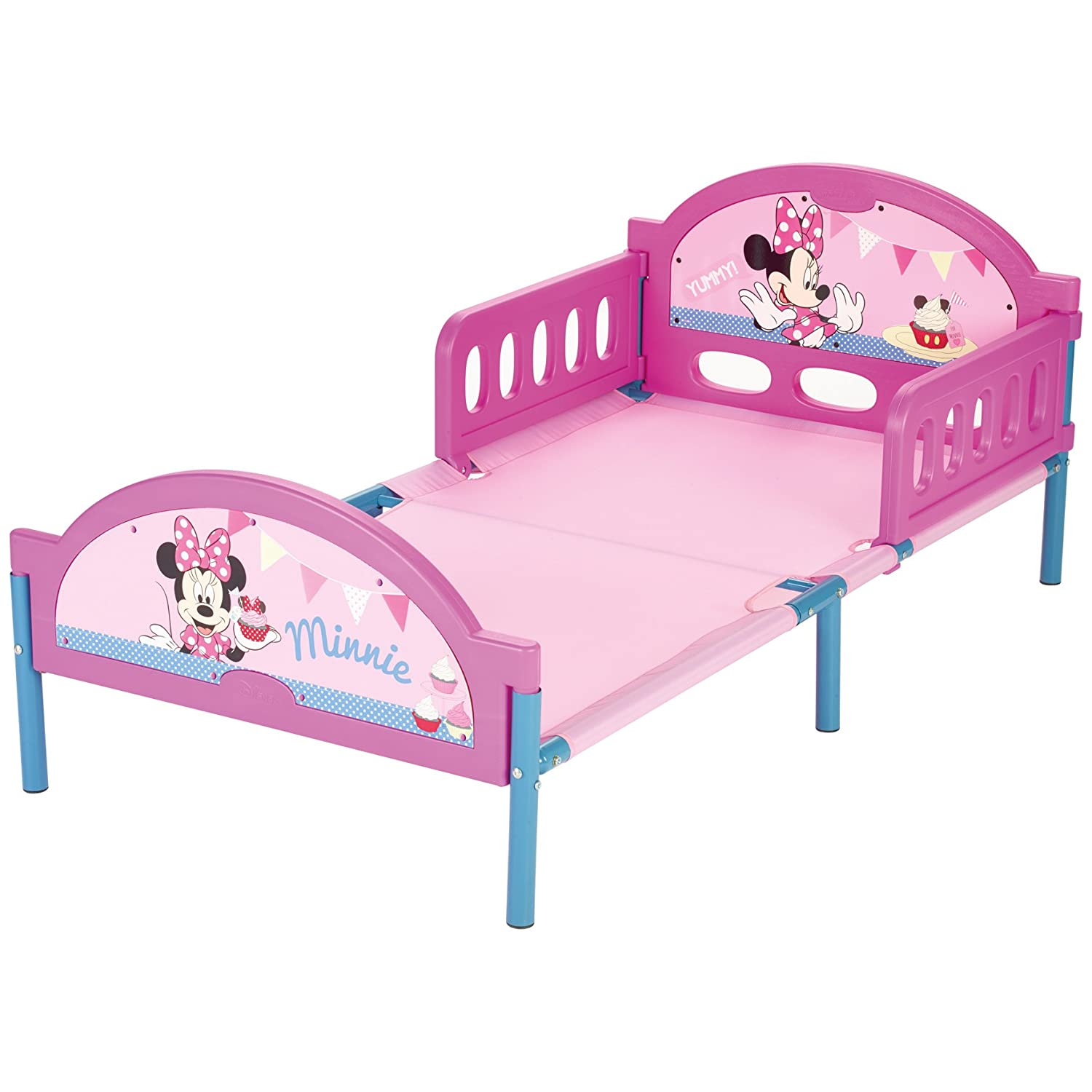 delta children plastic footboard twin bed disney minnie mouse - Minnie Mouse Toddler Bed Frame