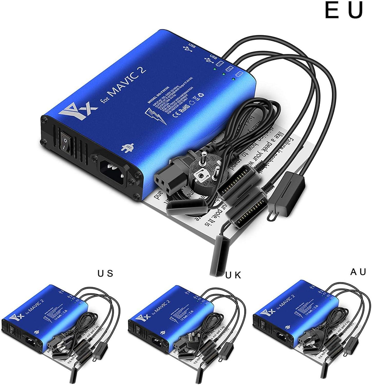 Batterieladeger/ät Ladeger/ät Akku 5 in 1 Multi Batterieladeger/ät Ladeger/ät Akku Ladeger/ät f/ür DJI Mavic 2 Pro//Zoom