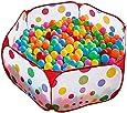 Kuuqa 100CM Tente de Jeu Piscine à Balles pour Enfants avec Sac de Rangement (Balles Non Comprises)