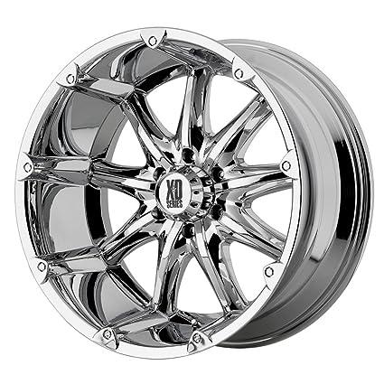 Amazon Com Xd Series By Kmc Wheels Xd779 Badlands Chrome Wheel