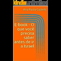 E-book - O que você precisa saber antes de ir a Israel