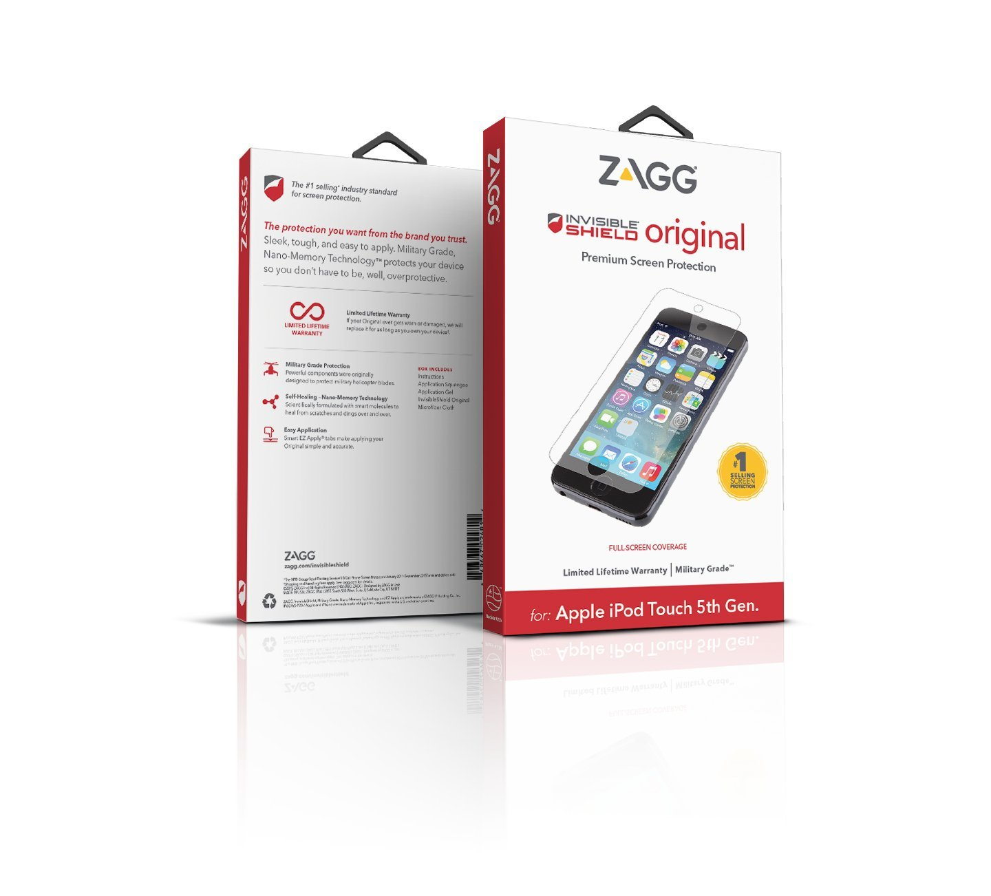 ZAGG InvisibleShield Screen Protector for Apple iPod Touch 5G