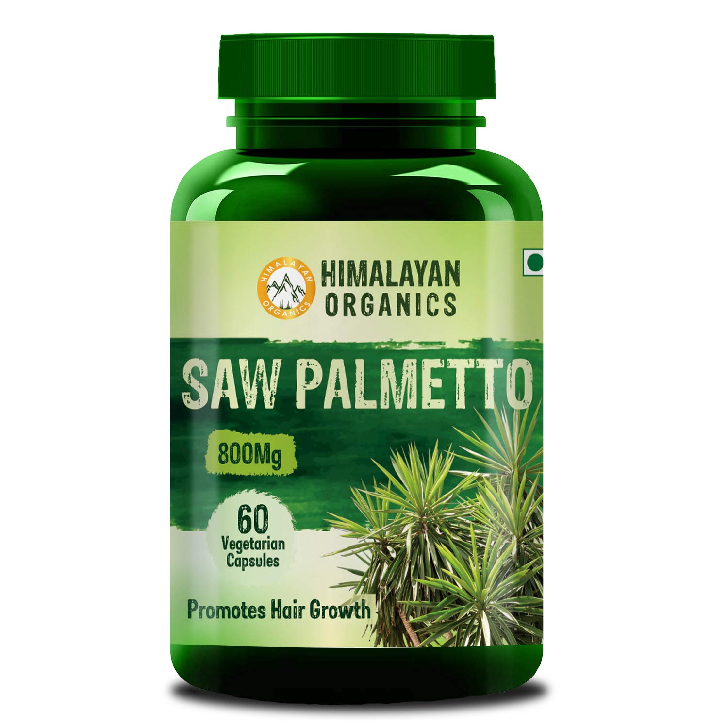 Himalayan Organics Saw Palmetto Extract Capsules For Hair