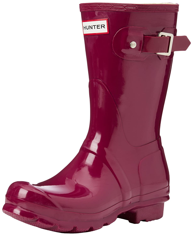 purple Hunter Original Short Boot Snow Boot