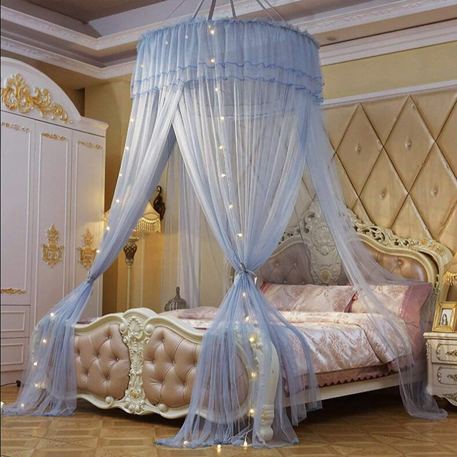 - Amazon.com: Jhdnhse Princess Mosquito Net Double Bed Curtains