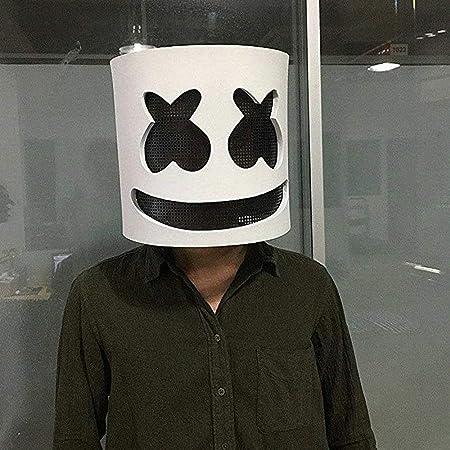 TAOtTAO - Máscara de látex para DJ, Disfraces de Halloween, Unisex ...