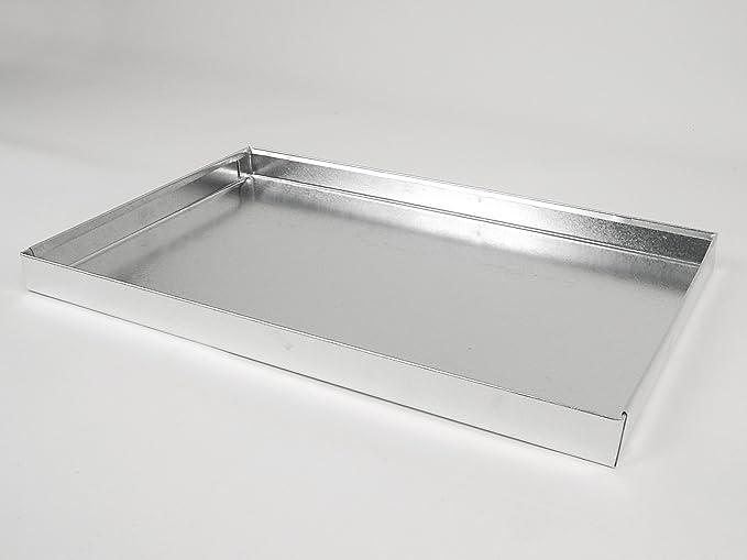 Bsp. 60 x 40 cm Grillkamin Grill Edelstahl Aschekasten 55 x 40 cm für z