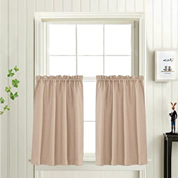 living slp amazon curtain elegance with sets com of jacquard panel attached x linen beige room set inch luxury valance