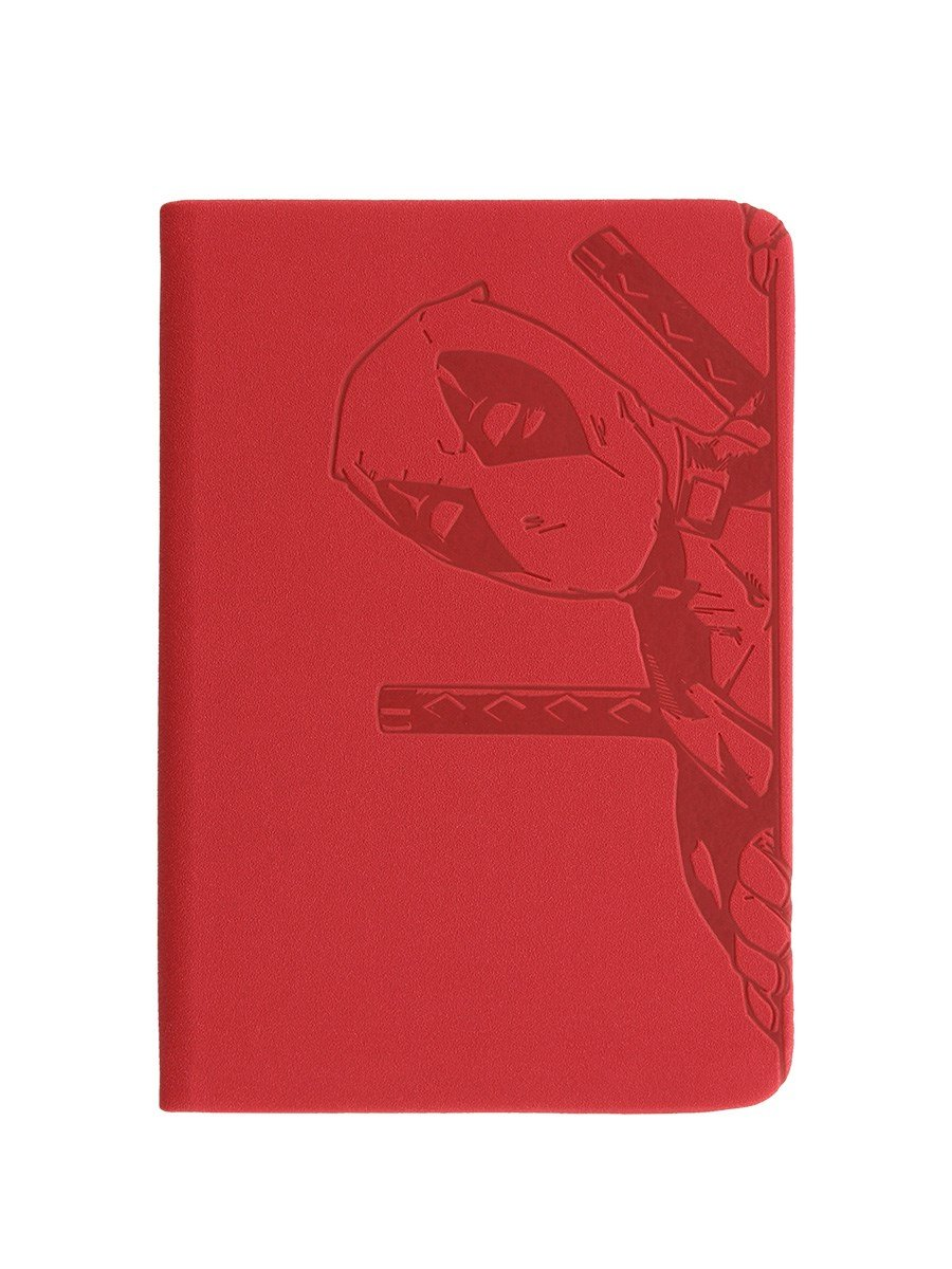 Deadpool Notizbuch Peek A Boo A6 10, 5 x 15 cm rot Pyramid