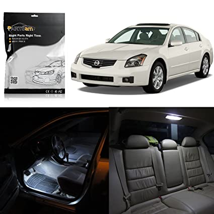 Amazon Partsam Nissan Maxima 2004 2008 White Interior Led Light
