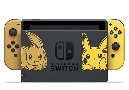 Nintendo Switch Pokémon Let S Go Pikachu Bundle Amazon De Games