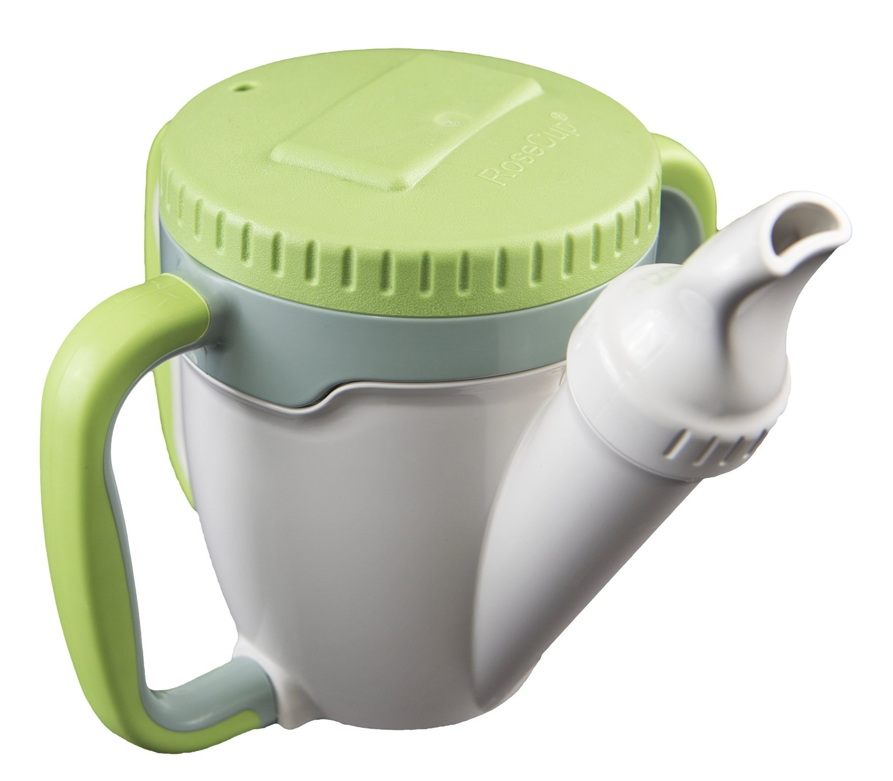 Dysphagia Cup with Sipper - Green by RoseCup