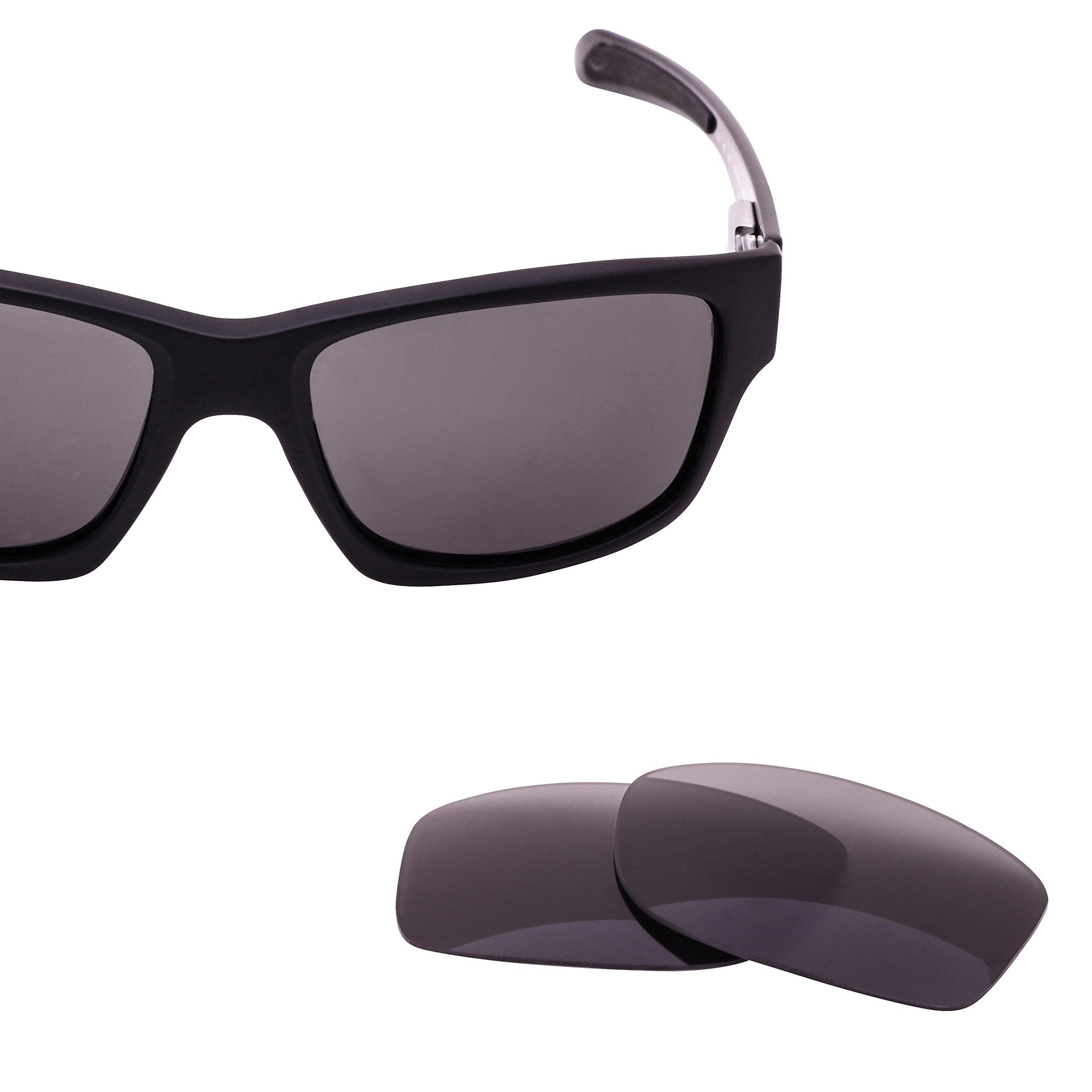 LenzFlip Replacement Lens for Oakley JUPITER CARBON - Gray Polarized Lenses