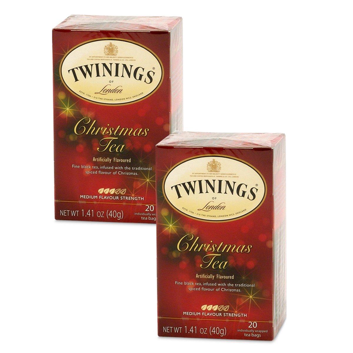 Twinings Christmas Tea - 20 count (2 PK)