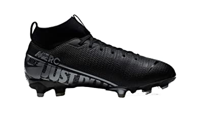 Nike Jr Mercurial Superfly 7 Academy Mg Kids Multi Ground Soccer Cleat 3 Black Cool Grey Metallic Cool Grey