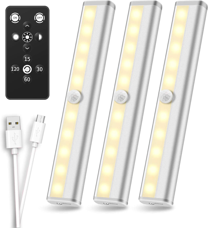 Tools & Home Improvement Under-Cabinet Lights Remote Control Under ...