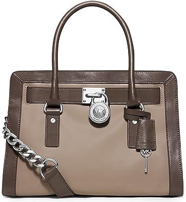 Michael Kors Hamilton EW Saffiano Satchel Handbag