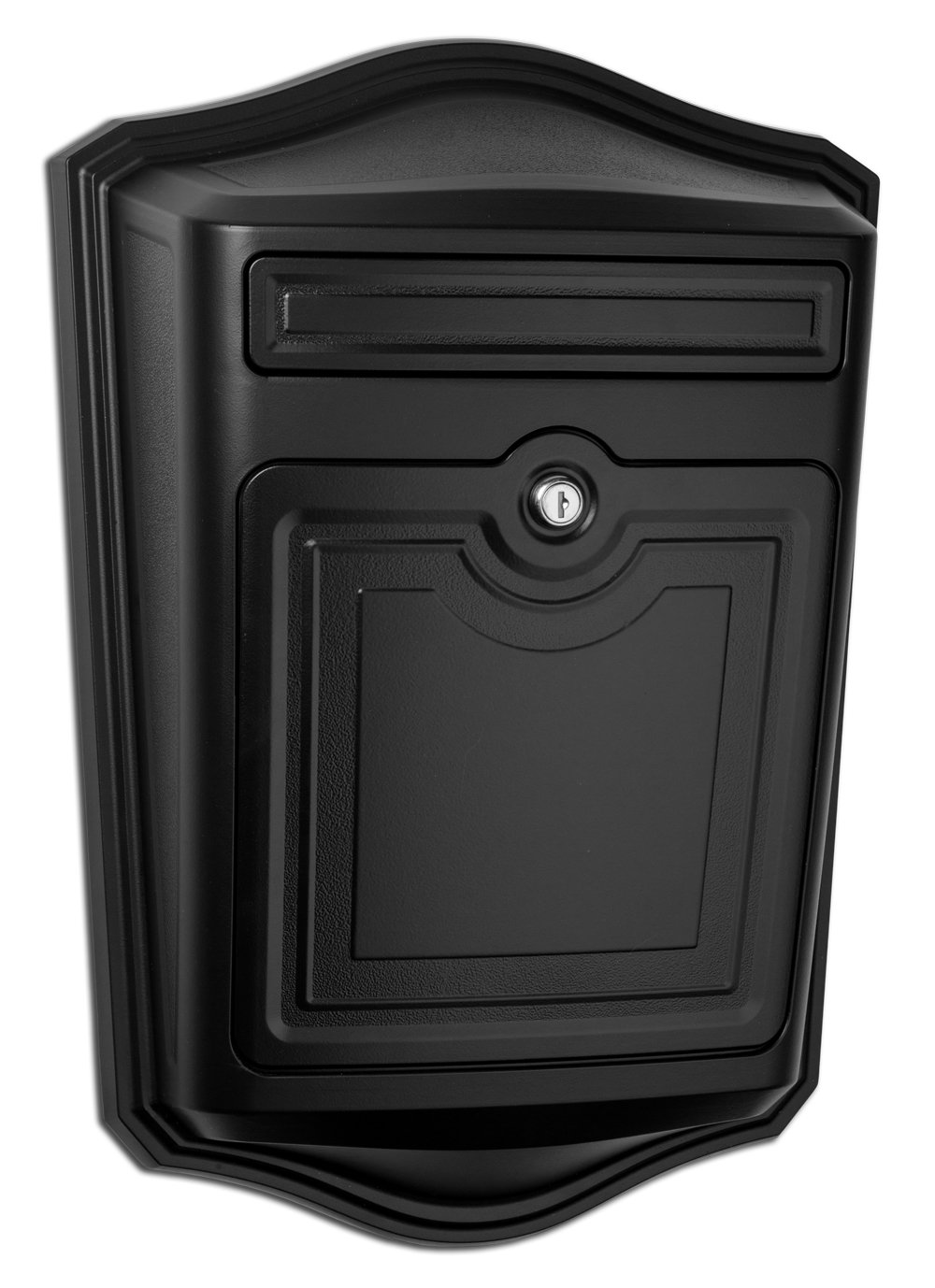 Architectural Mailboxes 2540B-10 Maison Locking Wall Mount Mailbox, Black