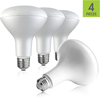 4-Pack Vemotix BR30 LED Light Bulb