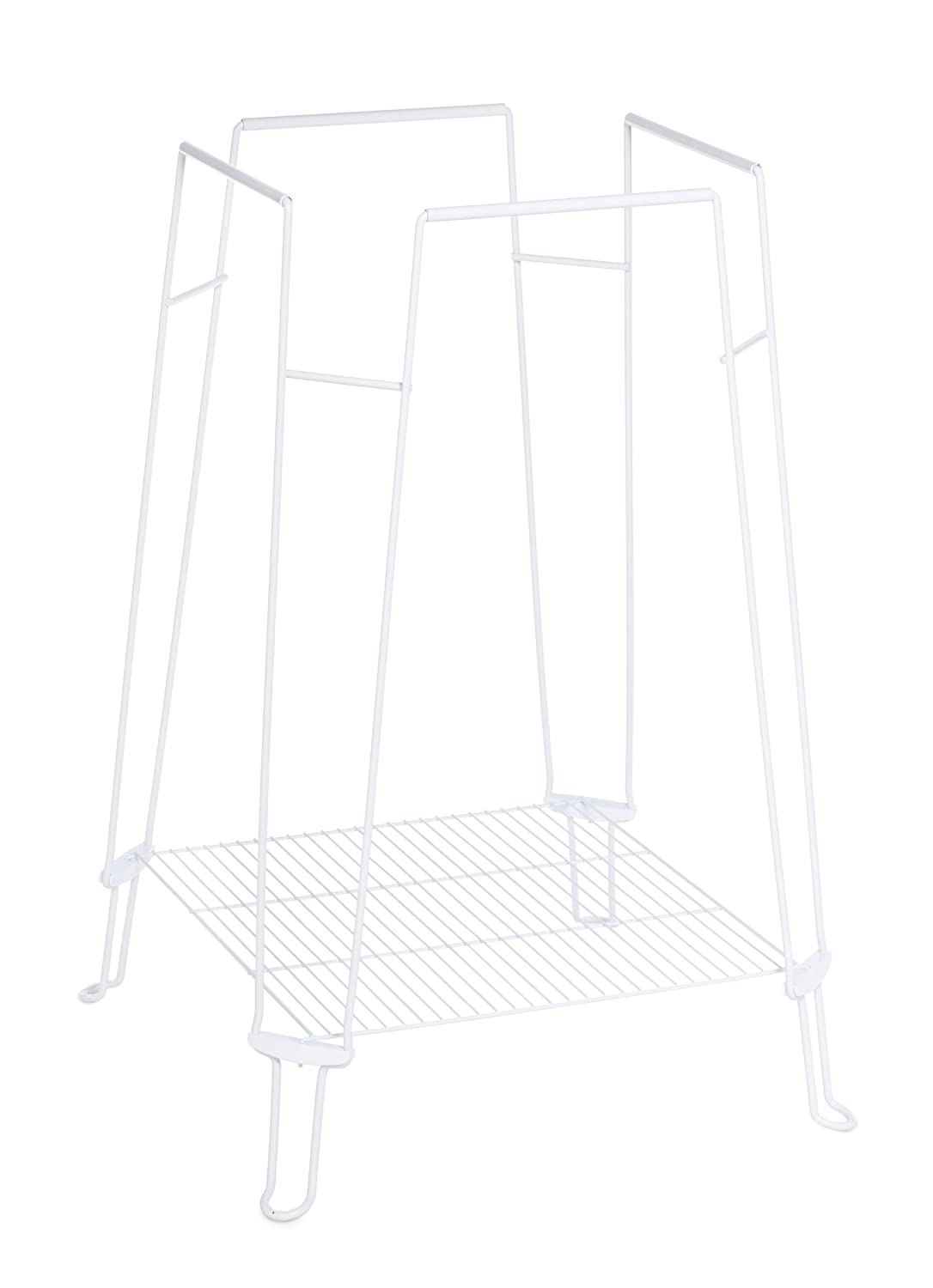 Prevue Hendryx Clean Life Bird Cage Stand, White