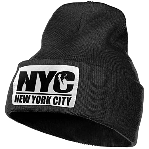 d2dcfe402ee Image Unavailable. Image not available for. Color  Beanie Hat Knit Hat Cap  NYC York ...